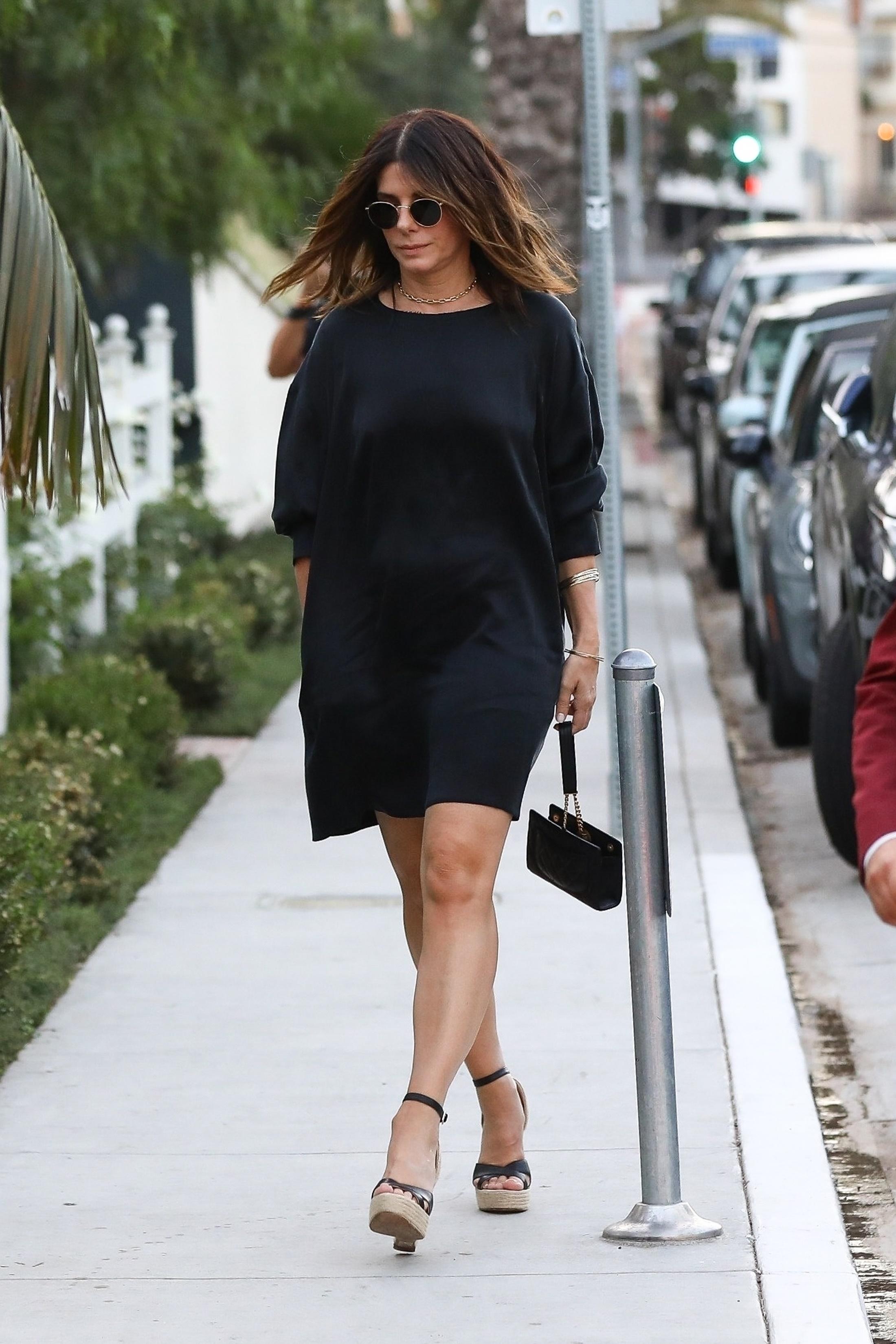 Sandra Bullock, looks, los angeles