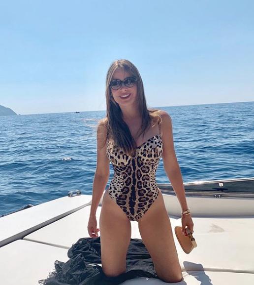 Sofía Vergara, vacaciones, Italia