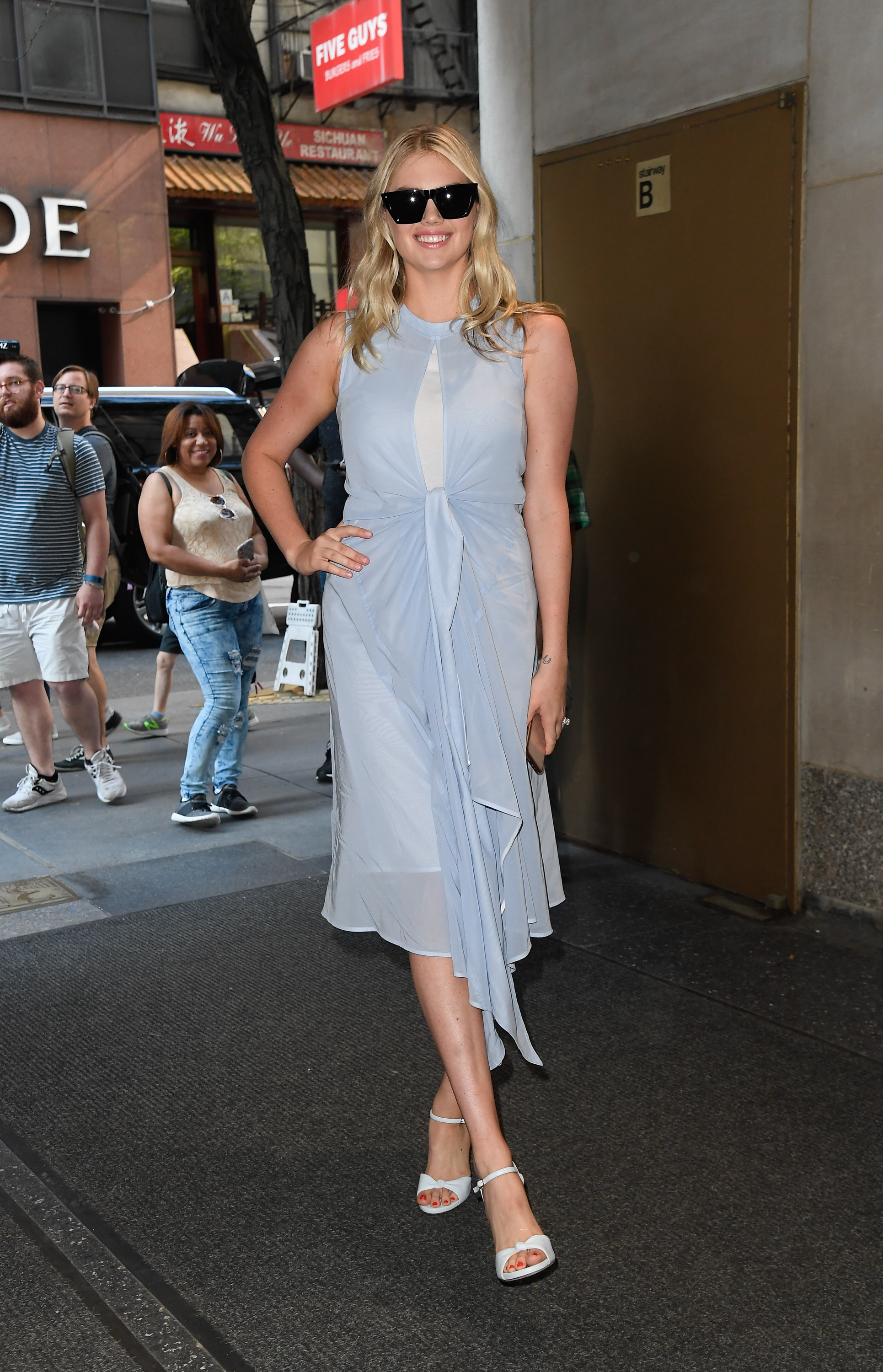Celebrity Sightings In New York City - August 12, 2019