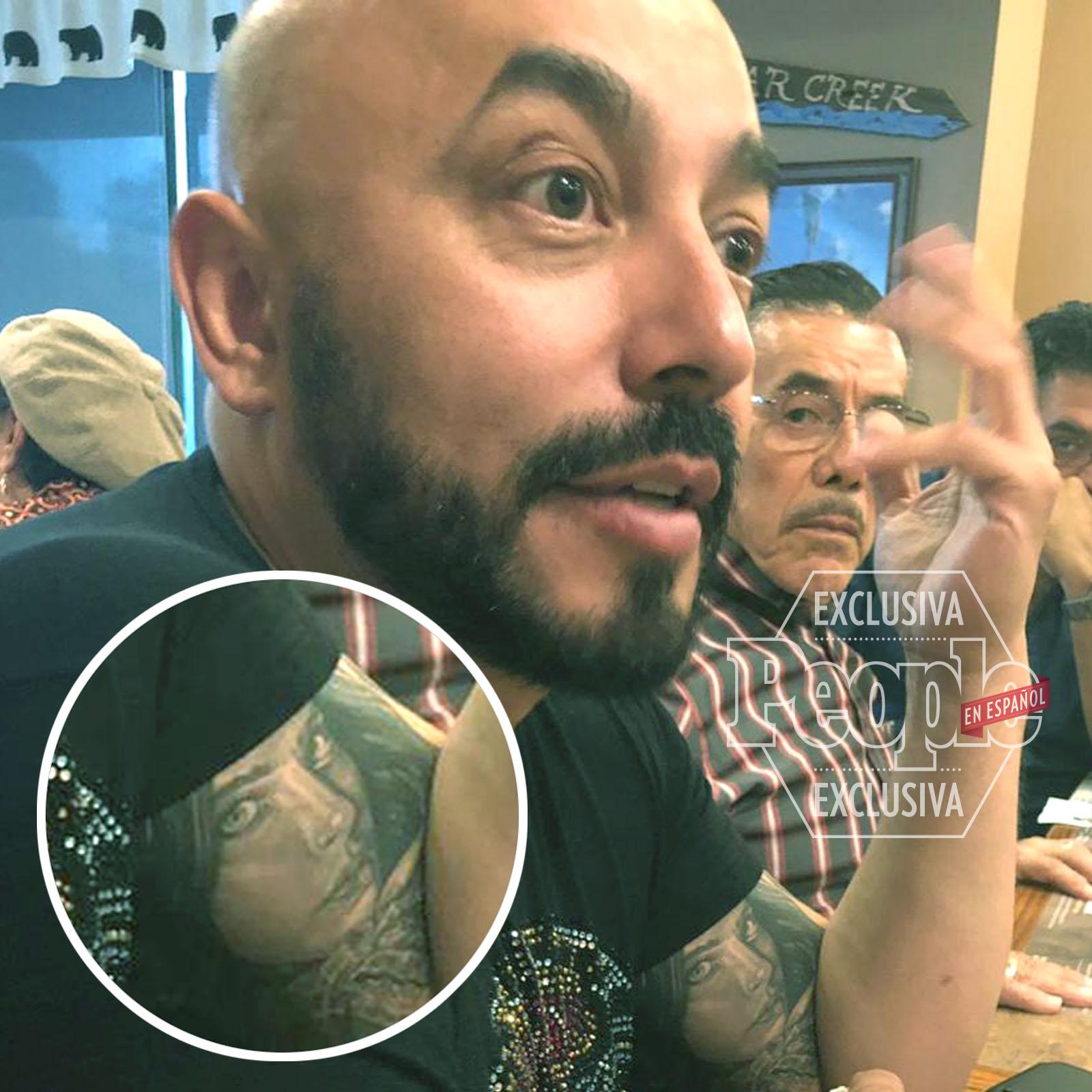 Lupillo Rivera y Belinda Tattoo
