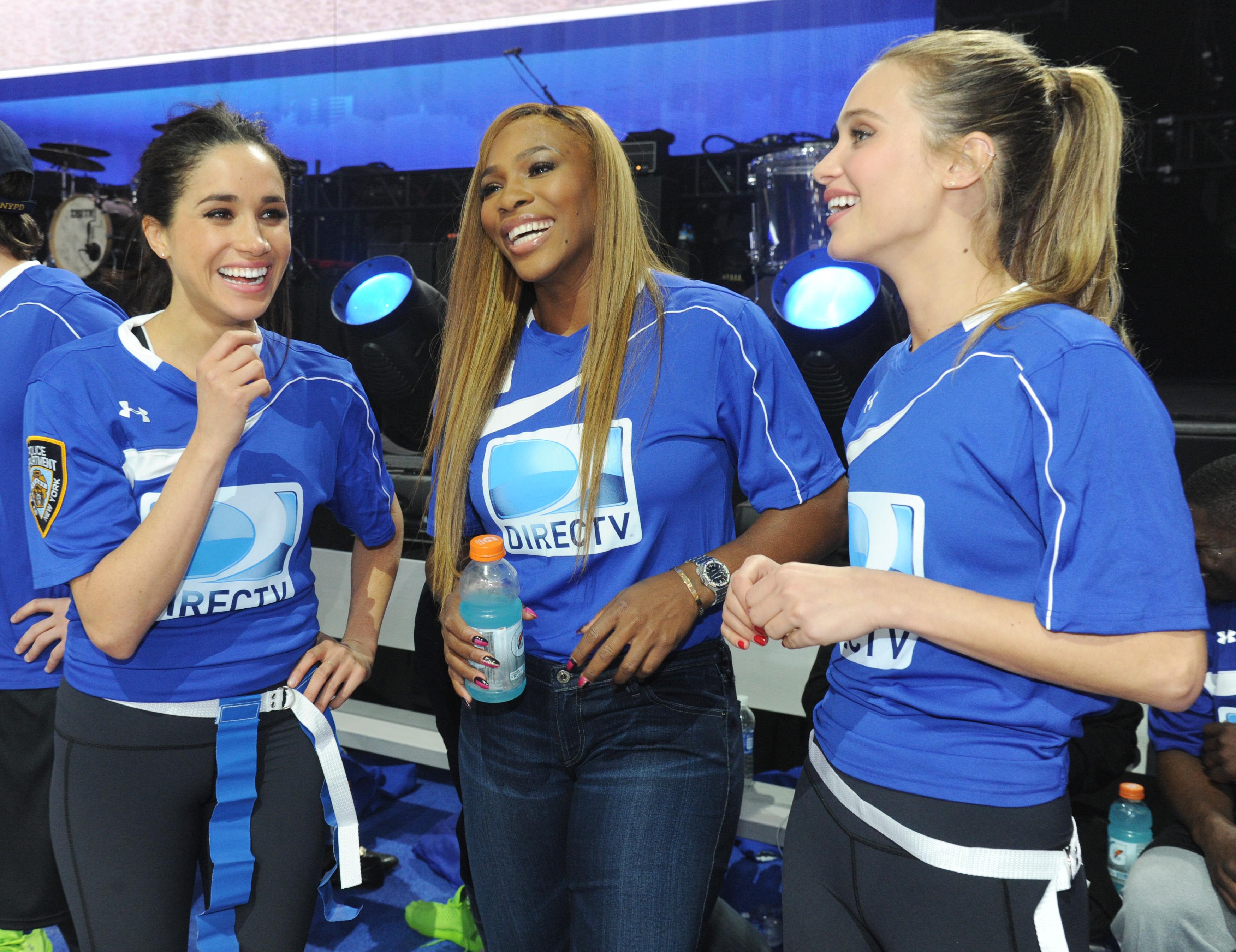 Meghan Markle, Serena Williams
