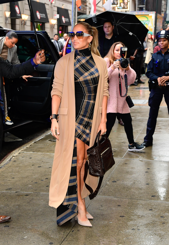 Jennifer Lopez, looks, new york, hustlers