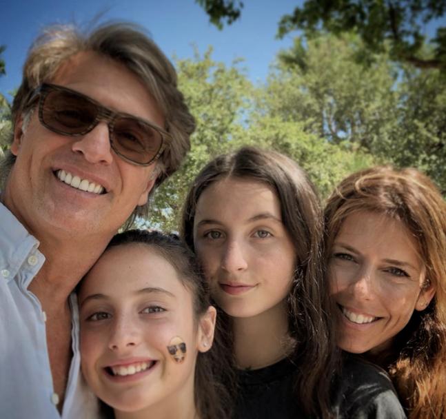 Juan Soler e hijas
