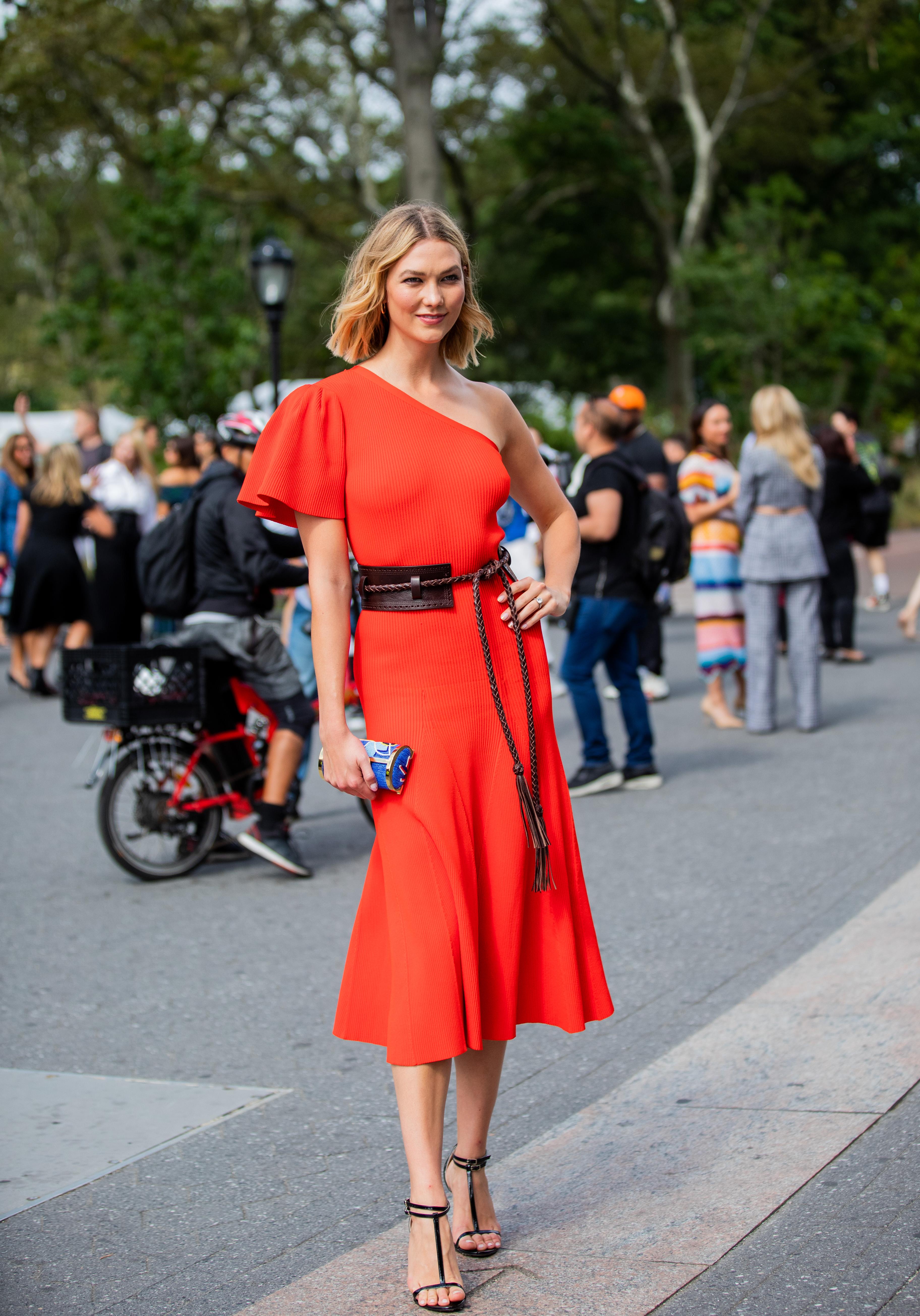 Karlie Kloss, looks, new york fashion week