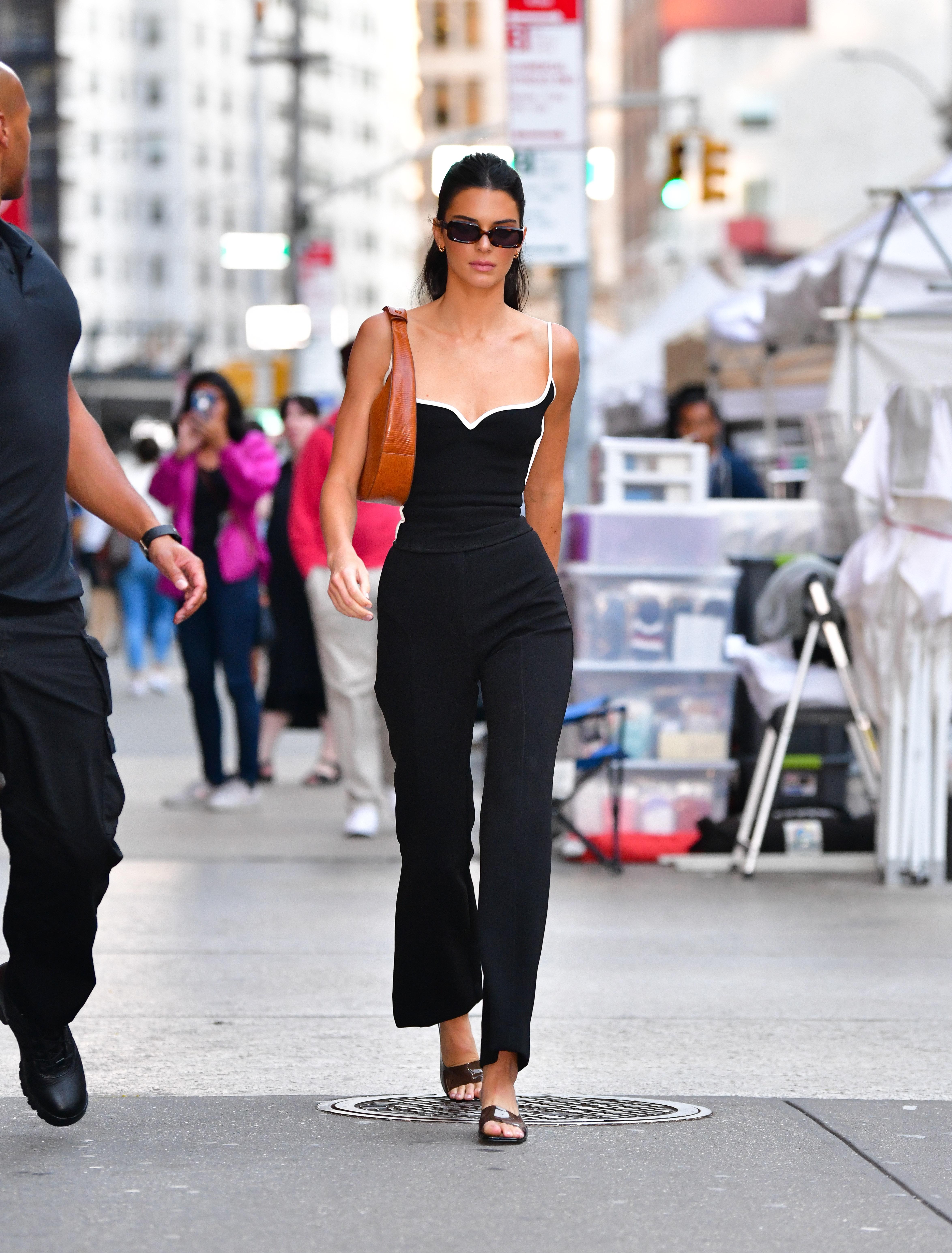 Kendall Jenner, looks, new york fashion week