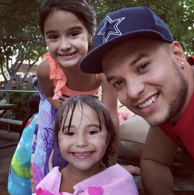 Lorenzo Mendez e hijas