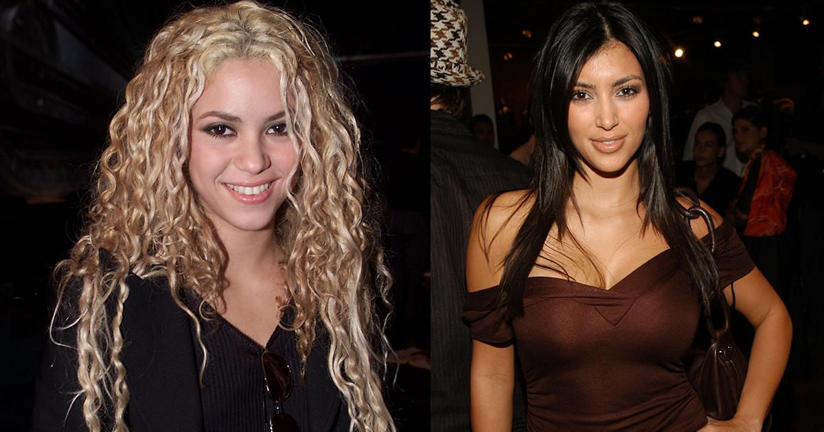Shakira y Kim Kardashian