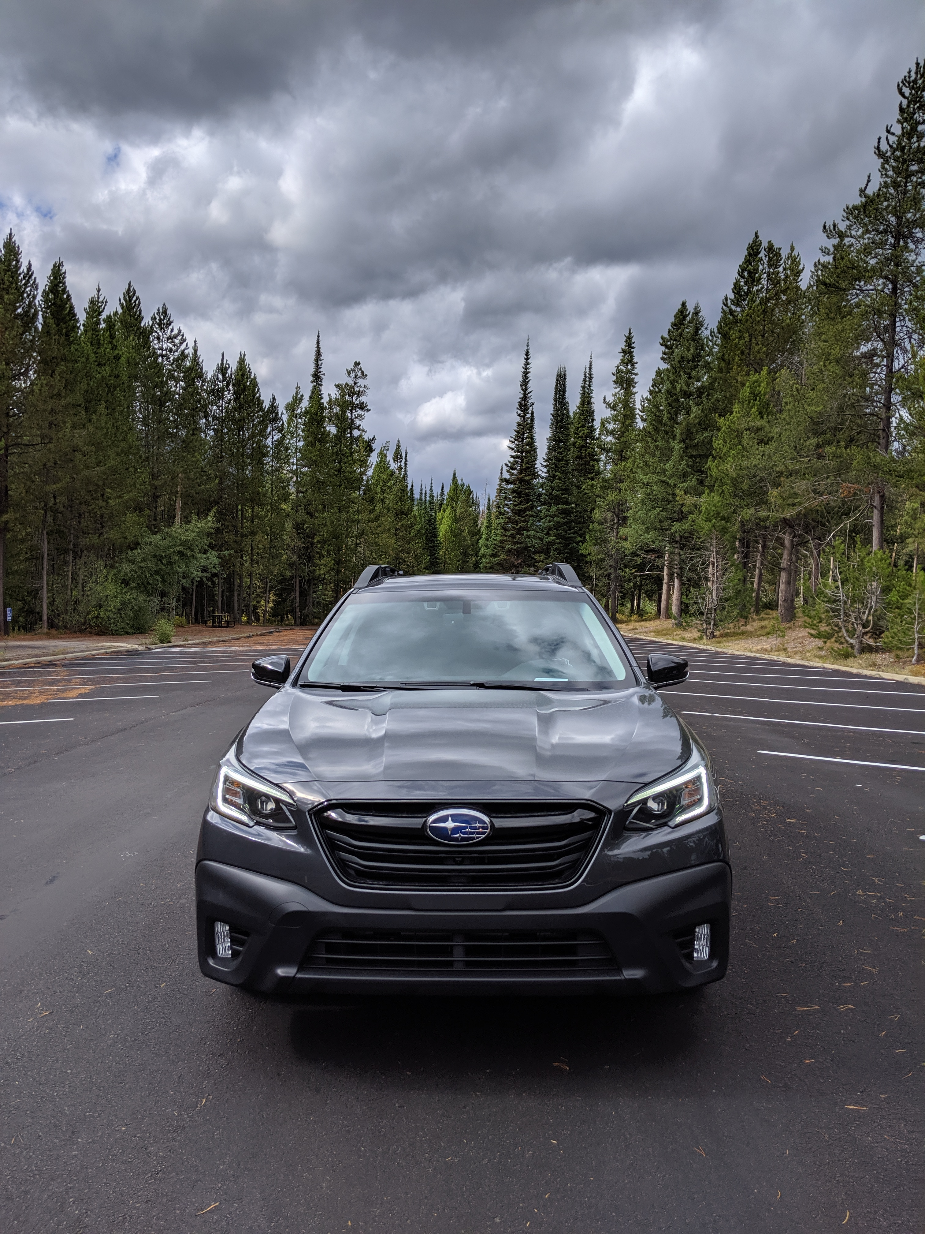 Grand Teton National Park Subaru