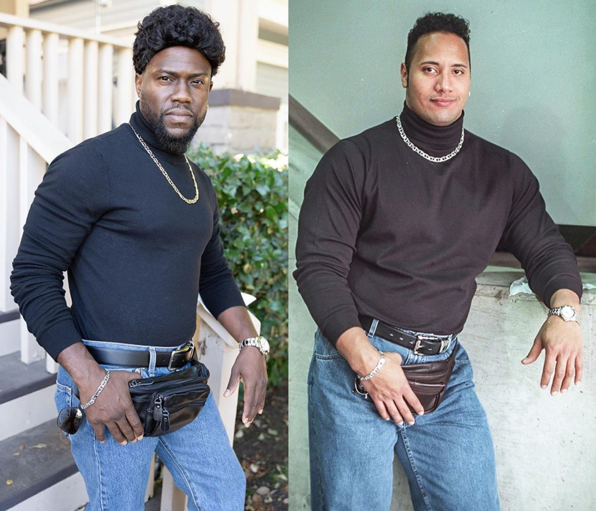 Kevin Hart, The Rock