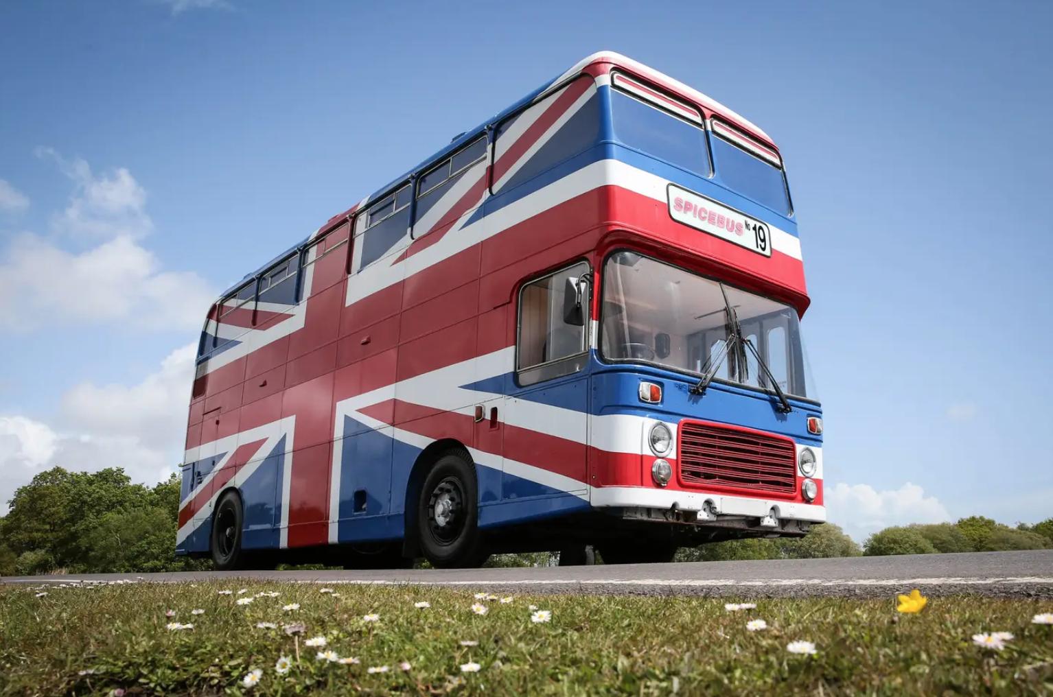 Bus de Spice Girls