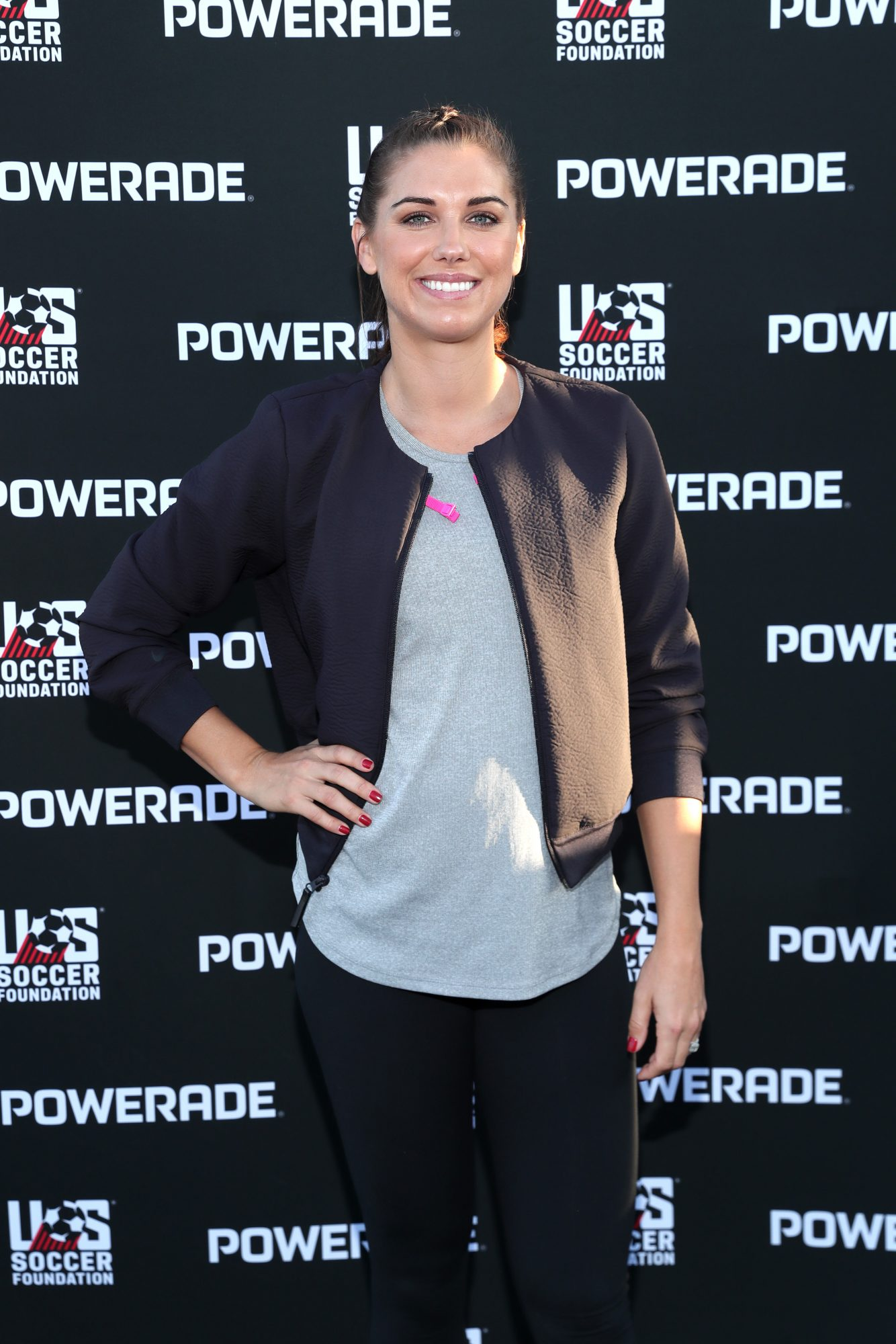 "POWERADE ""Power Pitch"" Grand Opening with Alex Morgan"