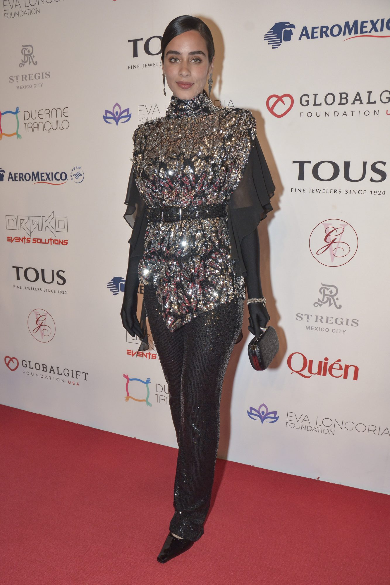 Esmeralda Pimentel, look, global gift gala