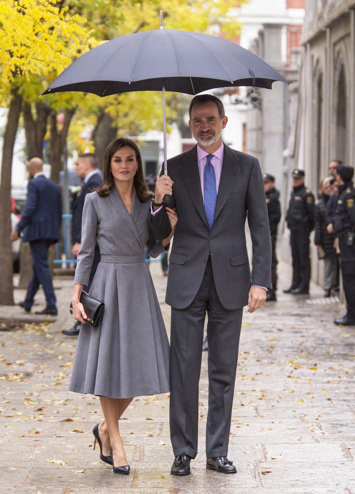 Spanish Royals Leave Observatory Award Against Domestic and Gender Violence 2019
