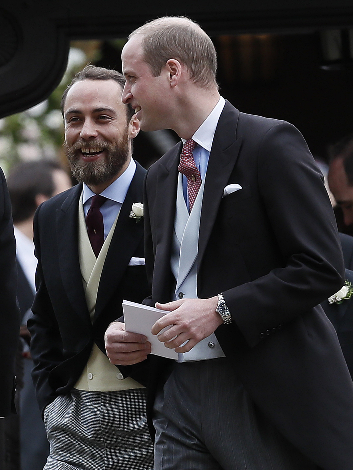 Príncipe William, James Middleton