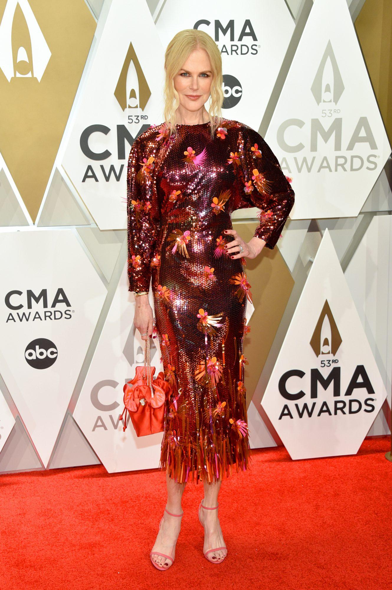 Nicole Kidman, look, CMA awards