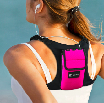 Universal Smartphone Fitness and Running Backpack