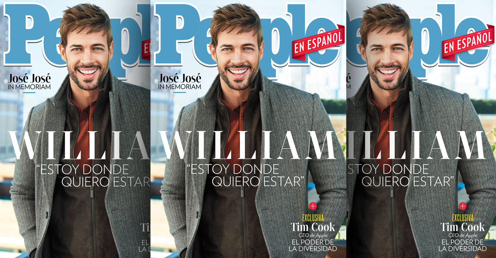 William Levy  December 2019/January 2020 issue