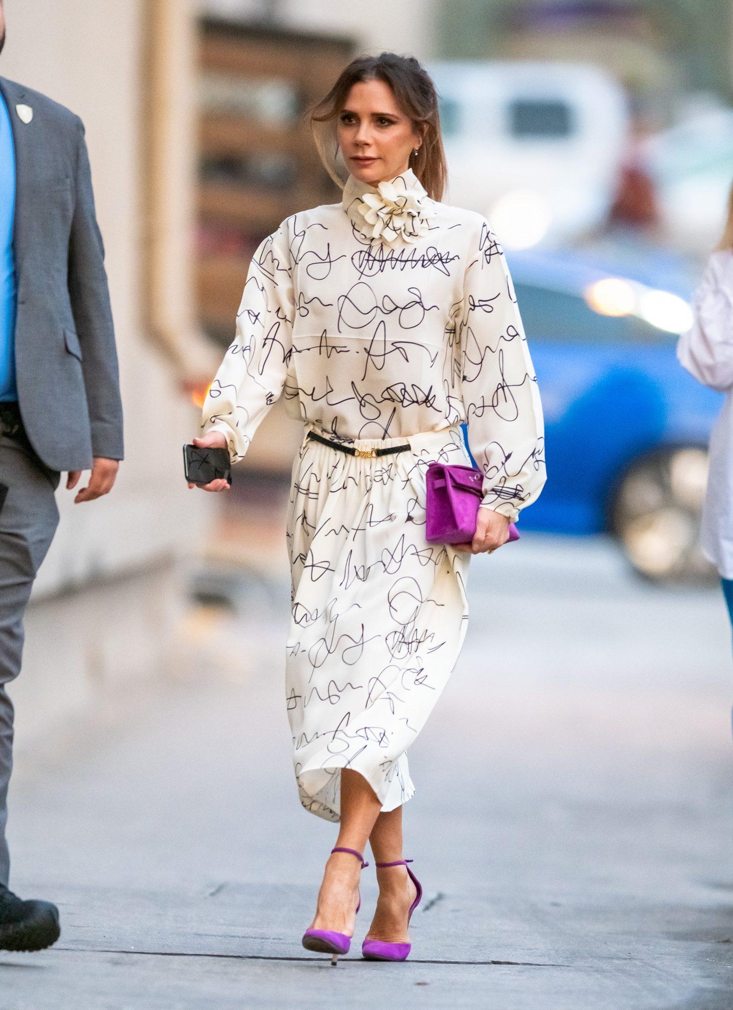 Victoria Beckham, look, new york