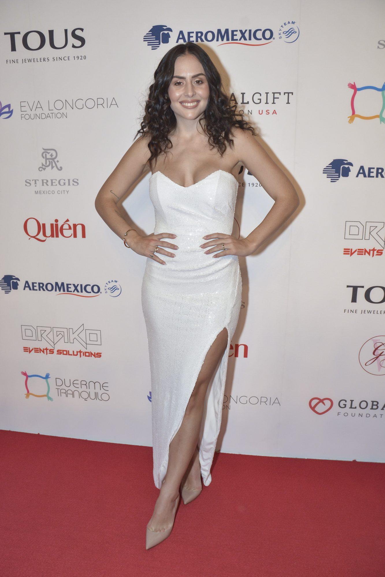 Zuria Vega, look, Global Gift Gala, Mexico