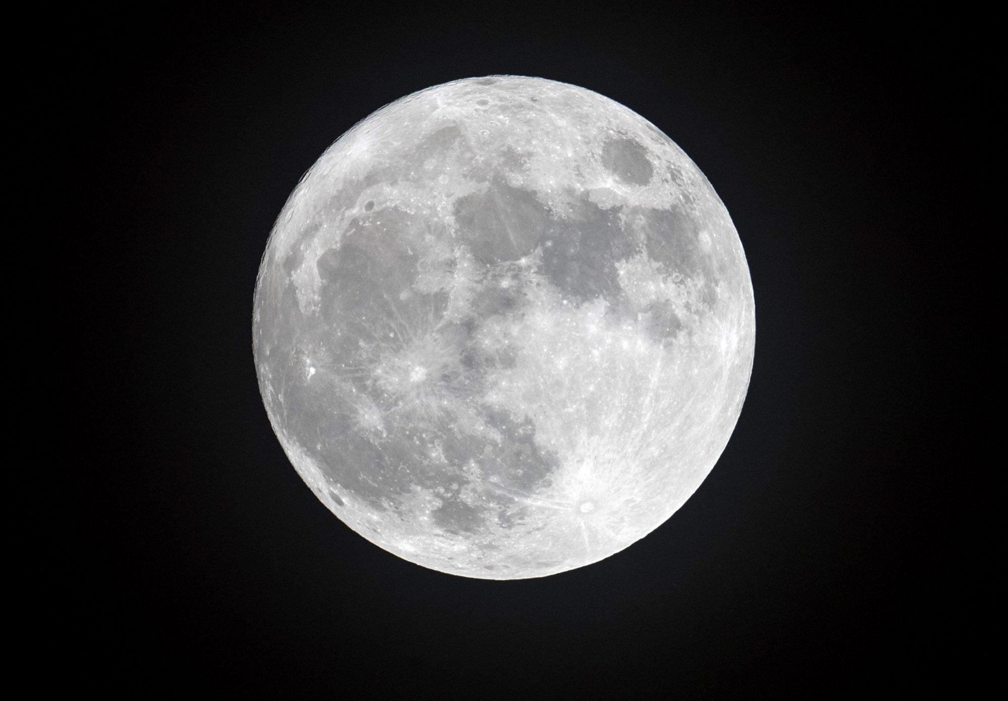 Full Moon, luna llena