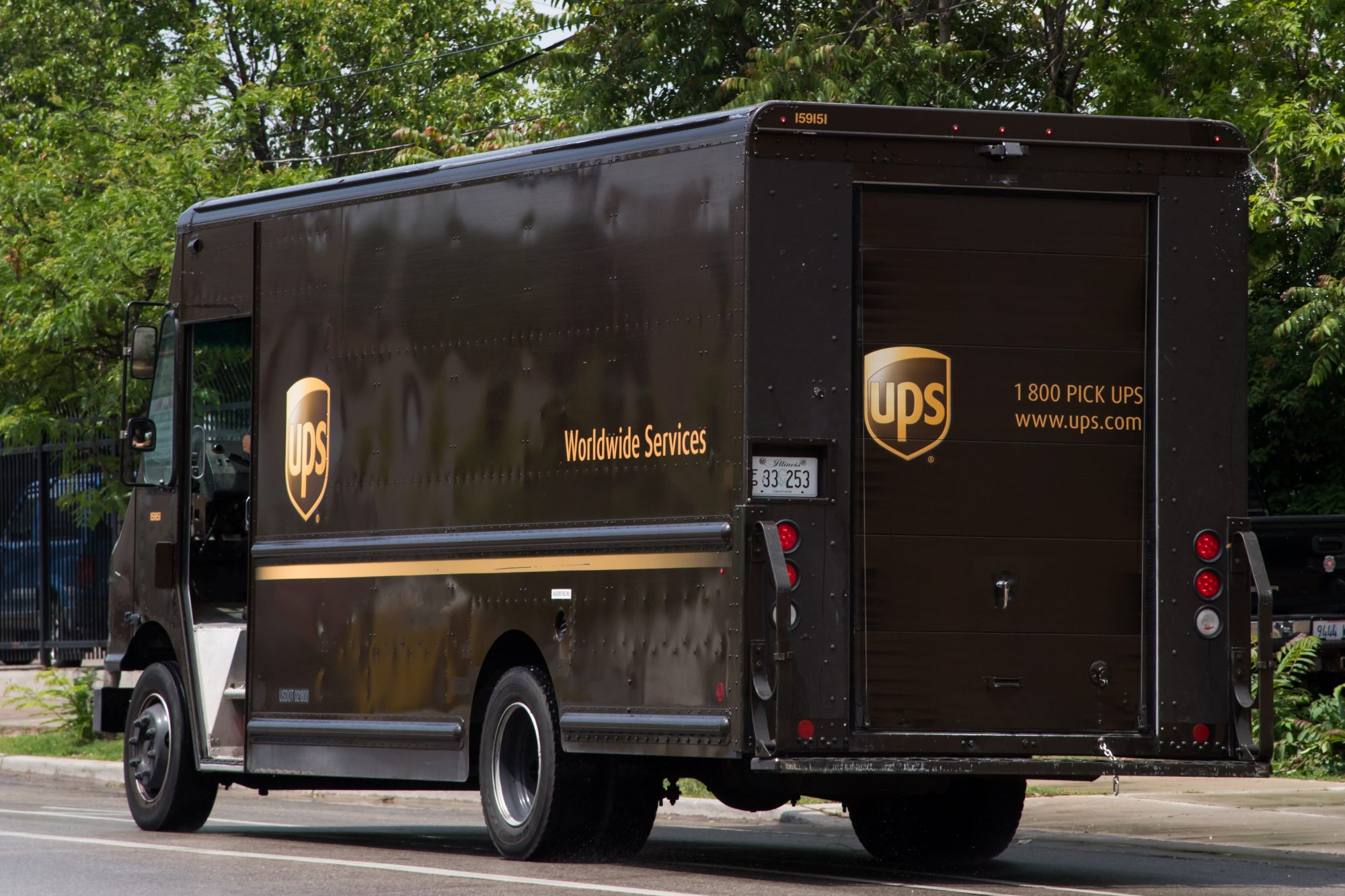 UPS Labor Strike In Chicago