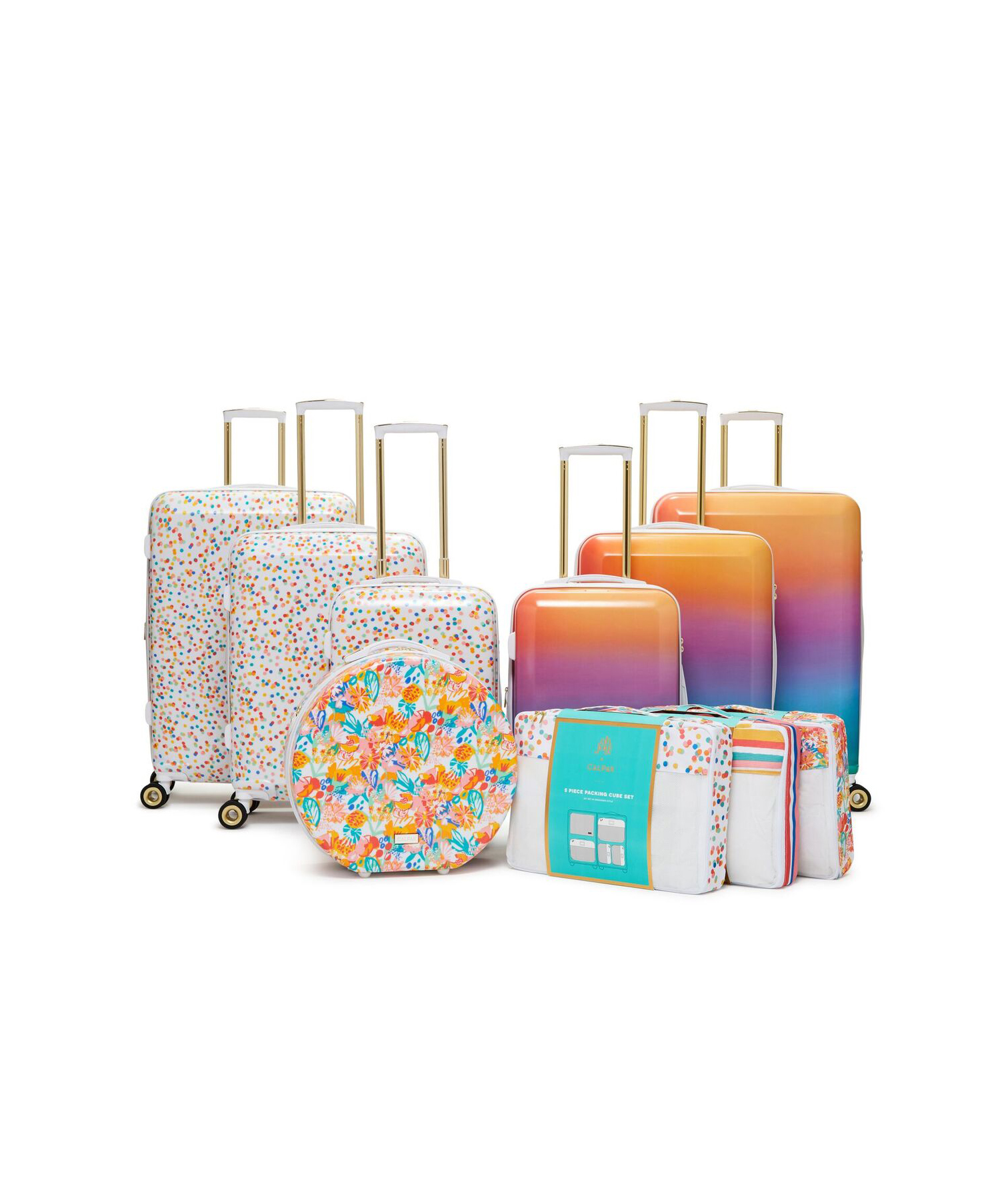 Oh Joy's New Luggage Collection Is What Rainbow Dreams Are Made Of
