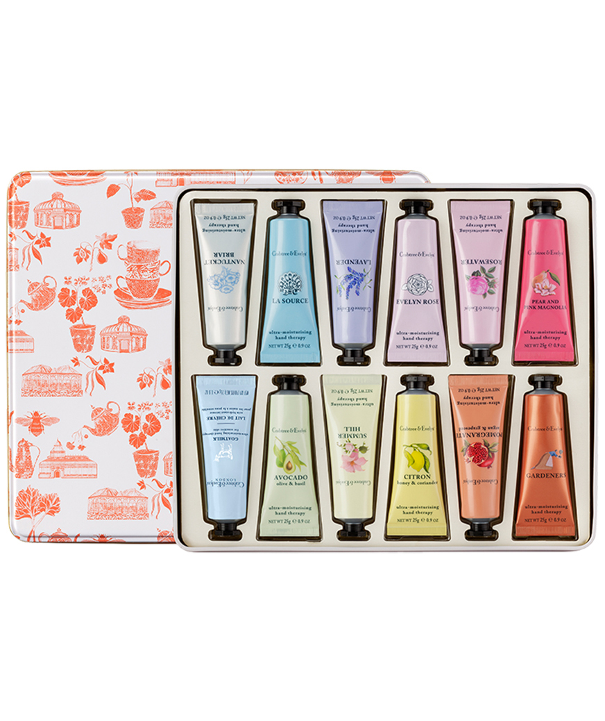 Valentines Gifts for Her: Crabtree & Evelyn Best Sellers Hand Therapy Sampler Set