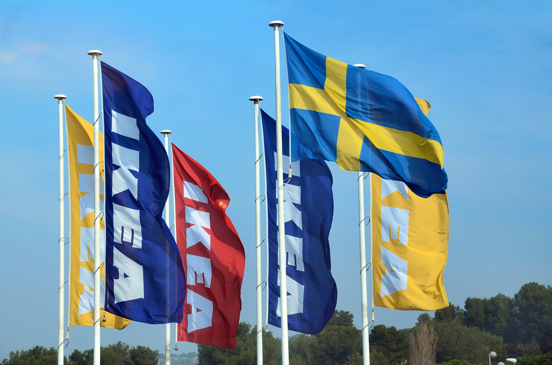 IKEA Store Flags