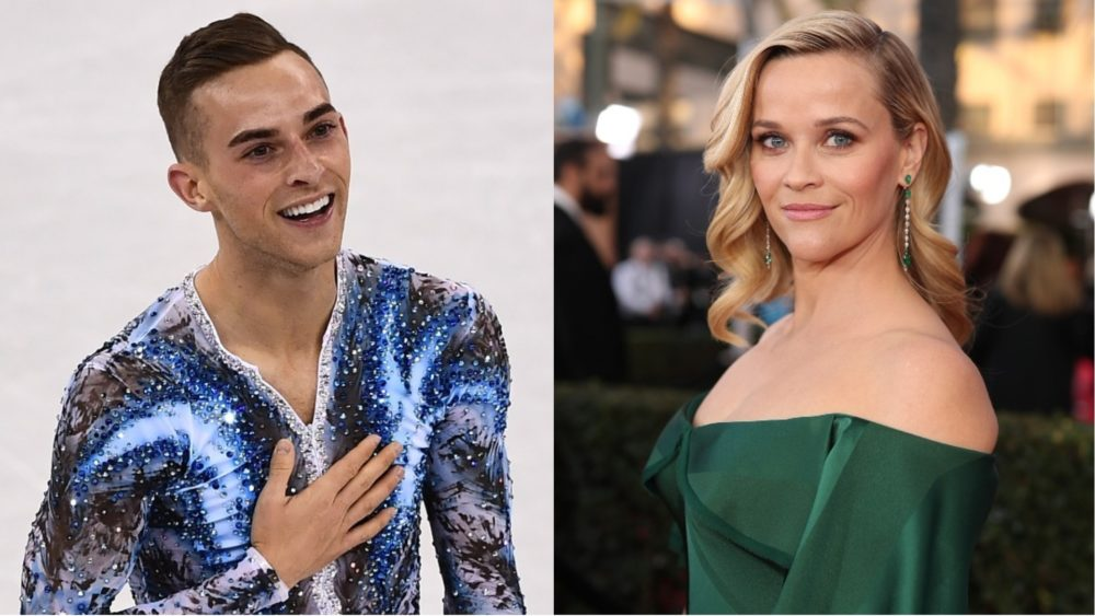 Olympic Skater Adam Rippon Just Wants to Make Reese Witherspoon Proud
