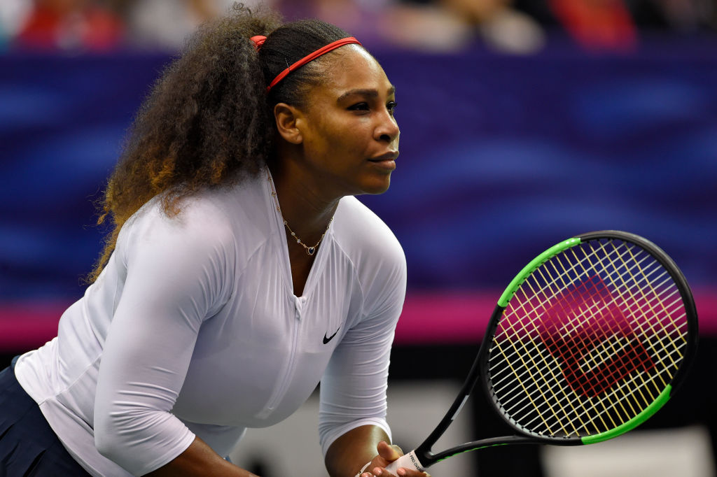 Serena WIlliams at Fed Cup