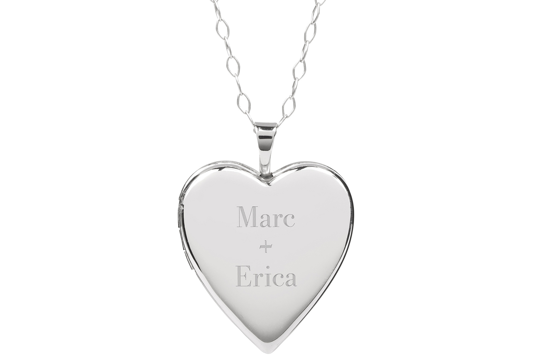 Personalized Heart Locket