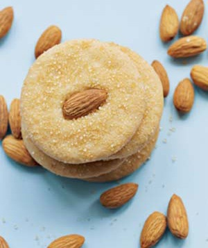 Golden Almond Cookies