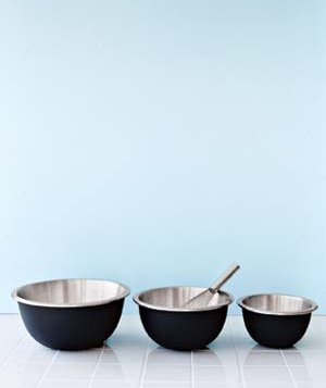 Easy-Grip Mixing Bowls, $15 to $25