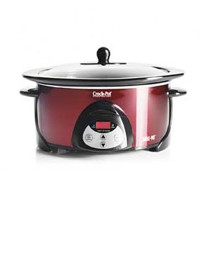 Crock-Pot 5.5-Quart Smart-Pot Countdown Programmable Slow Cooker