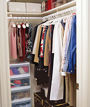 Stackable Drawers In A Closet