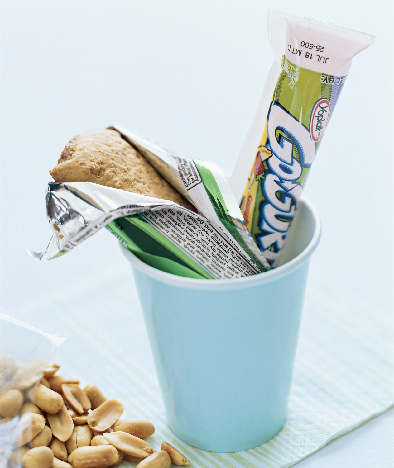 Energy bar in a cup