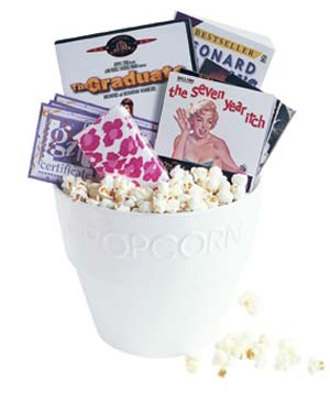 The Movie Night Basket