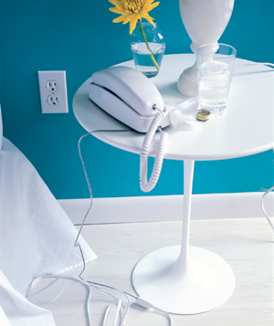 Reduce Electrical Cord Clutter