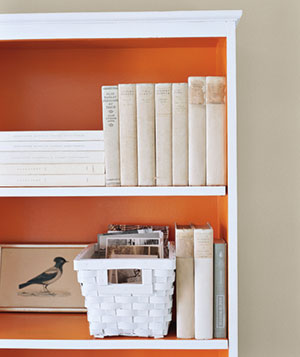 painting shelves ideas22 Ways to Arrange Your Shelves  Real Simple