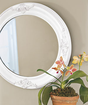 Painted or Finished Wood Mirror Frames