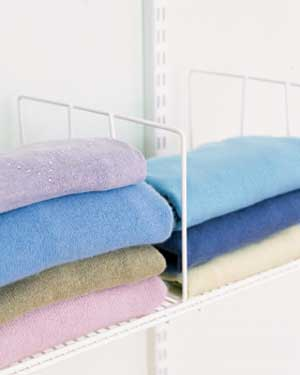 shelf dividers for sweaters