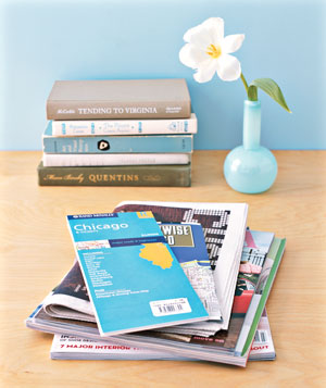 Offer Maps and Magazines