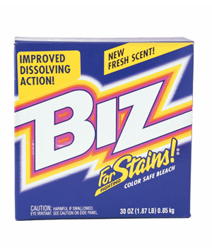 Biz powder bleach