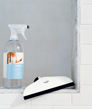 Method Shower Spray and OXO Good Grips Household Squeegee