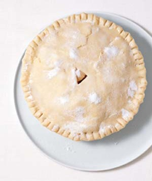 sugar-coated pie crust