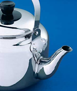 Stainless-steel teapot