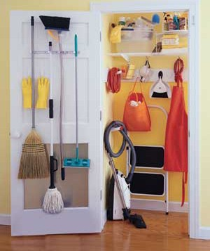Find A Storage E Closet Full Of Cleaning Tools