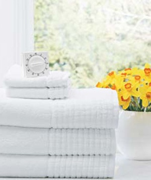 how to keep towels smelling fresh real simple. Black Bedroom Furniture Sets. Home Design Ideas