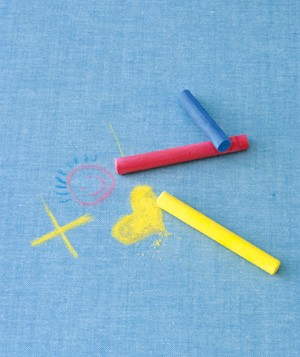 How to Remove Chalk Stains