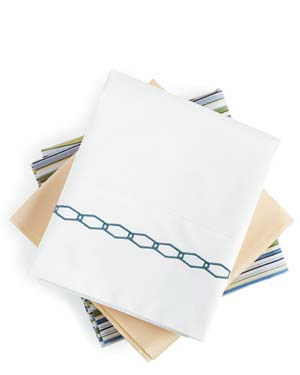 Folded pillowcases